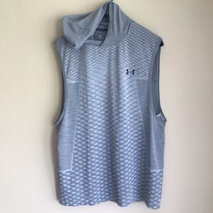Under Armour HeatGear Sleeveless Hoodie Shirt XL